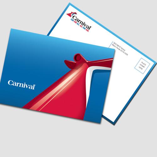 Carnival PVP PostCards