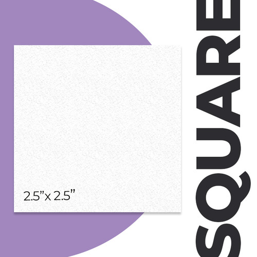 "2.5"" Square Business Cards"