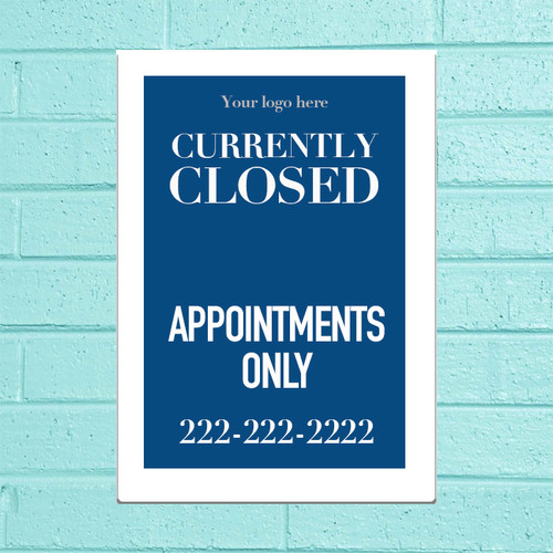 """11""""x17"""" Appointments Only Poster"""
