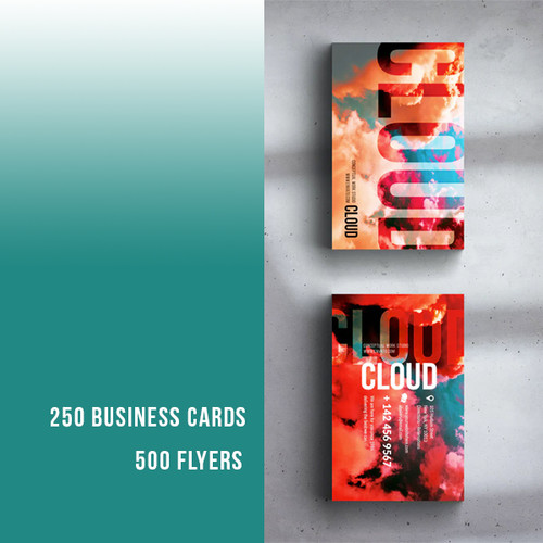 Business Cards + Flyers Promo