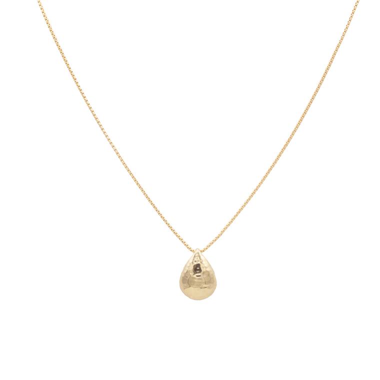 Calypso rain drop necklace