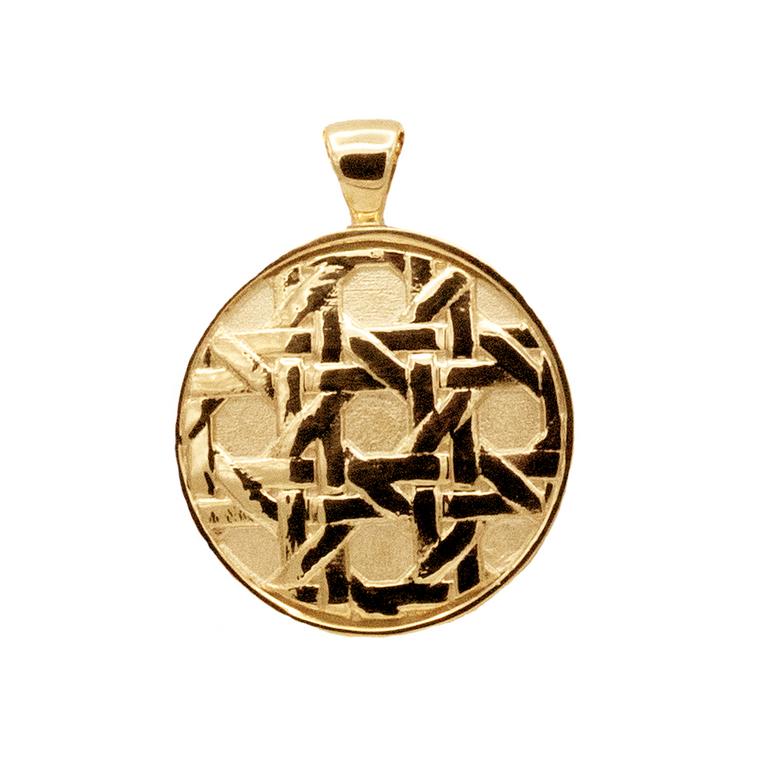Vintage Rattan pendant