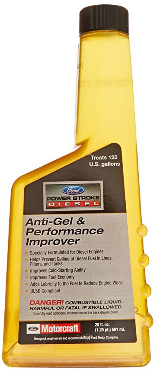 Improve your diesel engine's performance and protect it against the effects of poor quality fuel with Power Stroke Diesel fuel additives. Poor quality diesel fuel can cause your diesel engine to run less efficiently and decrease your fuel economy. Add these diesel fuel additives before each fill-up to improve fuel economy and starting ability, and deliver smoother engine operation.