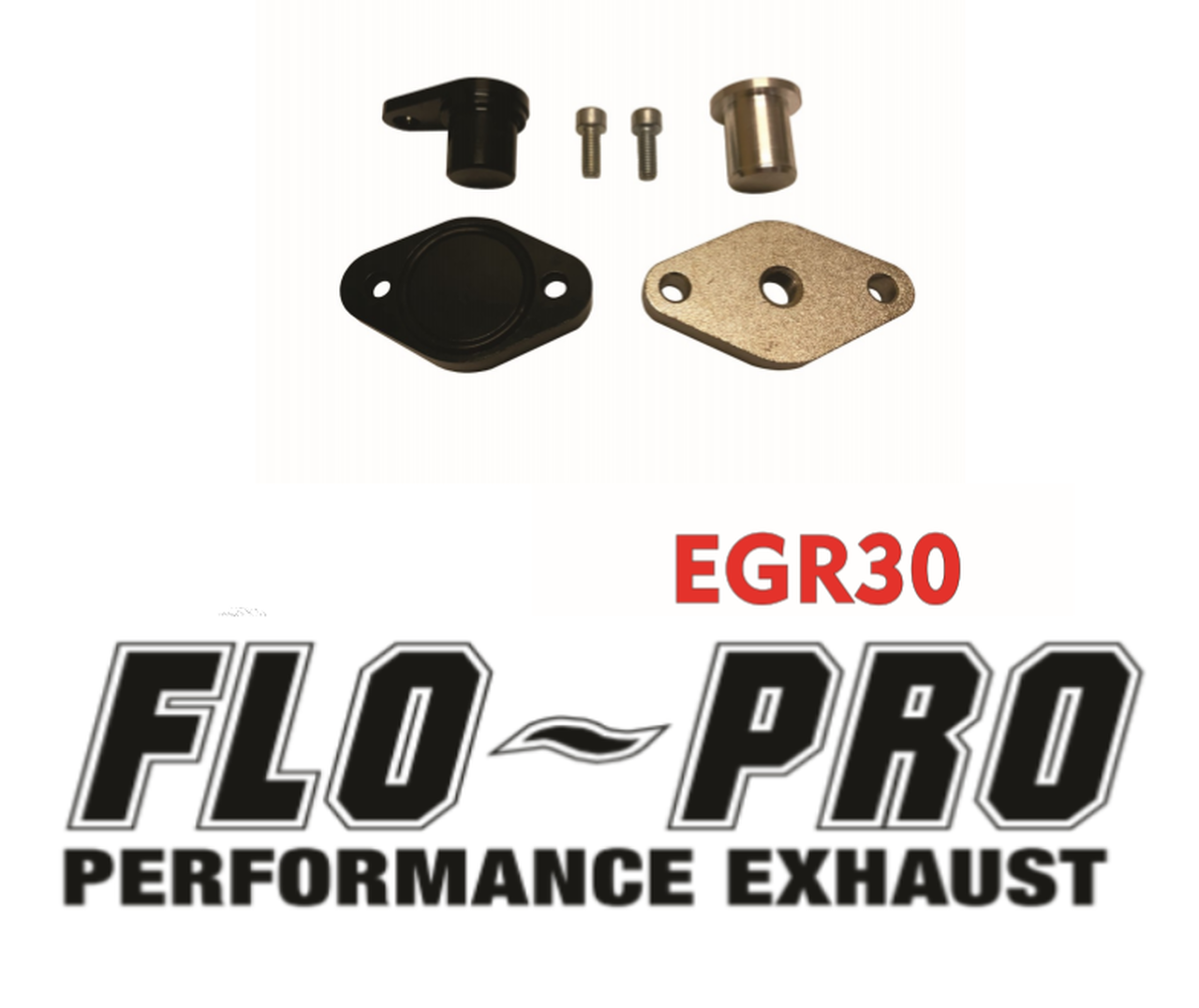 18-20 Ford F-150  3.0L Powerstroke, FLO-PRO EGR Delete Kit