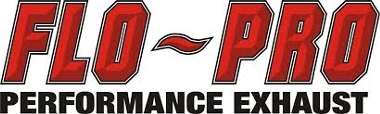 "2020-2021 , 6.7L, F250/F350/F450/F550, FLO-PRO 5"" Aluminized Downpipe Back Full Race Exhaust With Muffler"