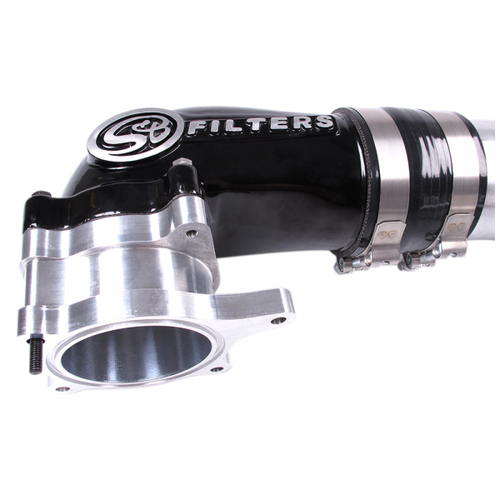 S&B Intake Elbow with Cold Side Intercooler Piping & Boots for 2005-2007 Ford Powerstroke 6.0L