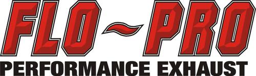 "2007.5-2010, 6.6L, Silverado 2500/3500, LMM, FLO-PRO 4"" Aluminized Downpipe Back Race Exhaust EC-CC/SB-LB-Dually, No Muffler"