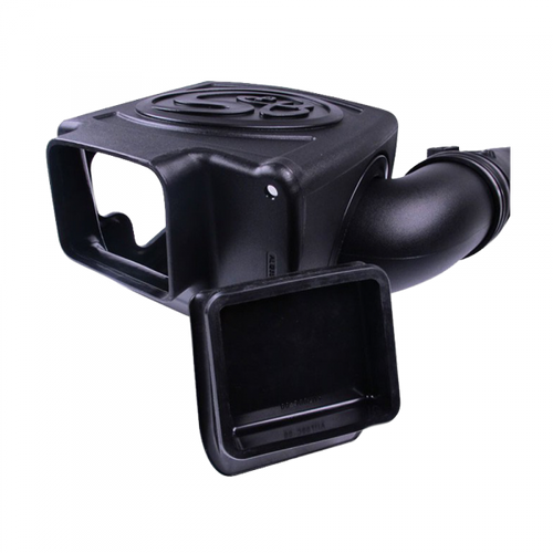 The 2011-2016 Duramax intake was designed with a secondary inlet, resulting in even better airflow. A silicone plug is included for those who prefer to pull in air only from the fender inlet.