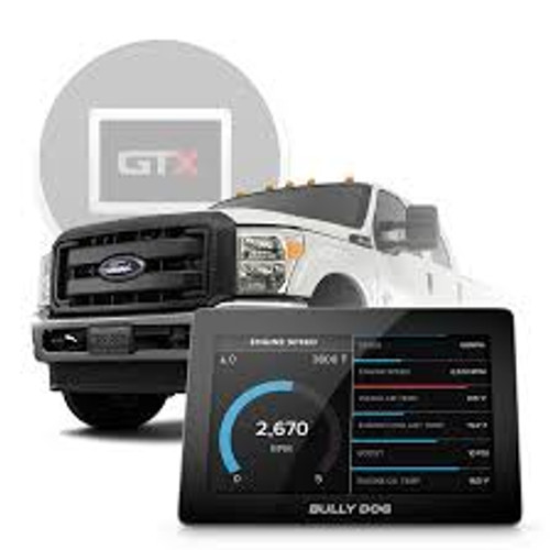 Bully Dog GTX Performance Tuner & Display (2008-19 Powerstroke, 2018 Ram 6.7 Cummins, 08-10 Duramax)