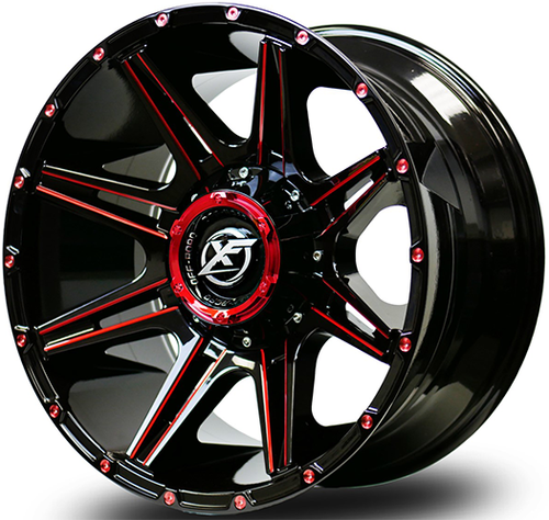 XF Offroad Wheels offer a unique stylish design for your Truck, Jeep or SUV at an affordable price.