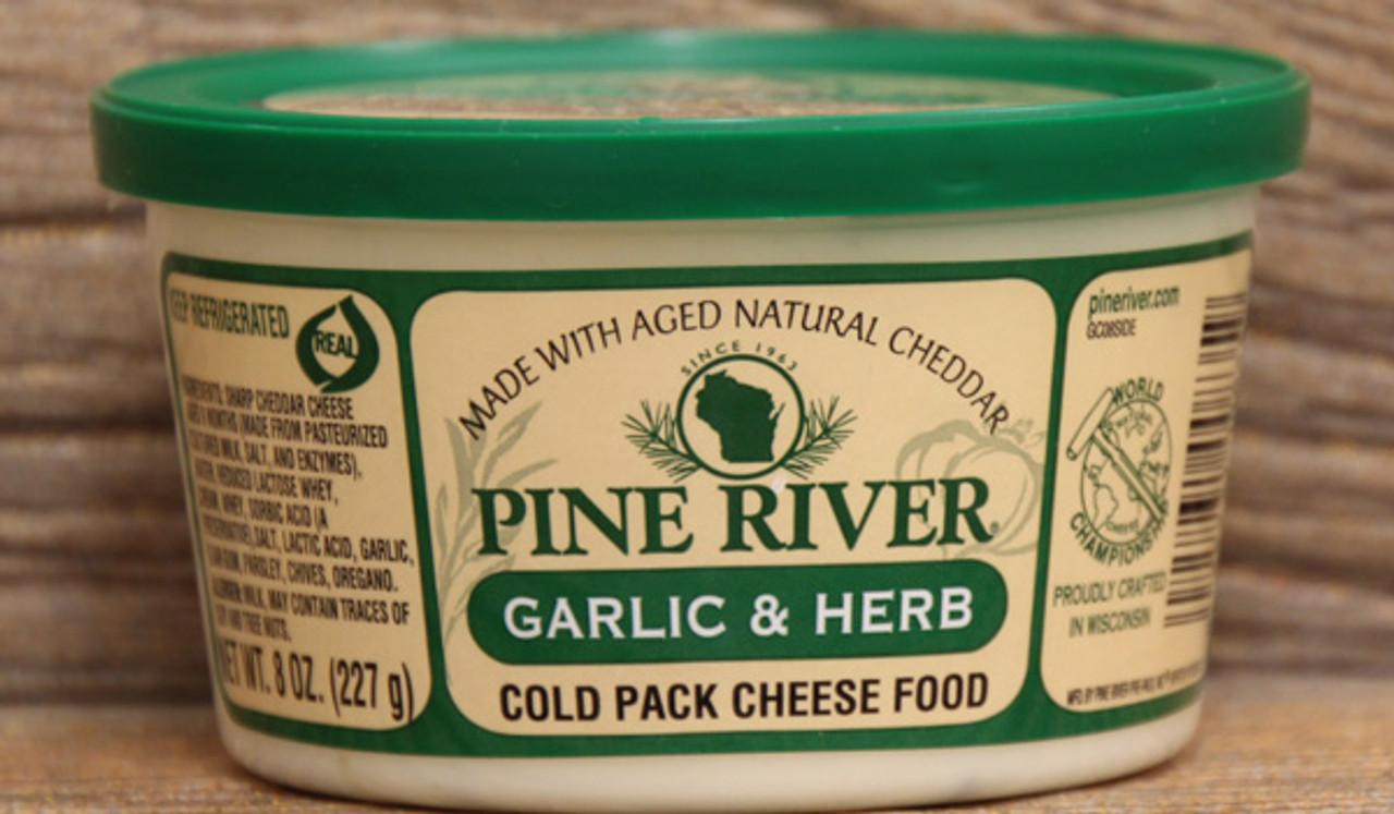 Pine River Garlic and Herb Cheese Spread - 8oz - Cedar ...