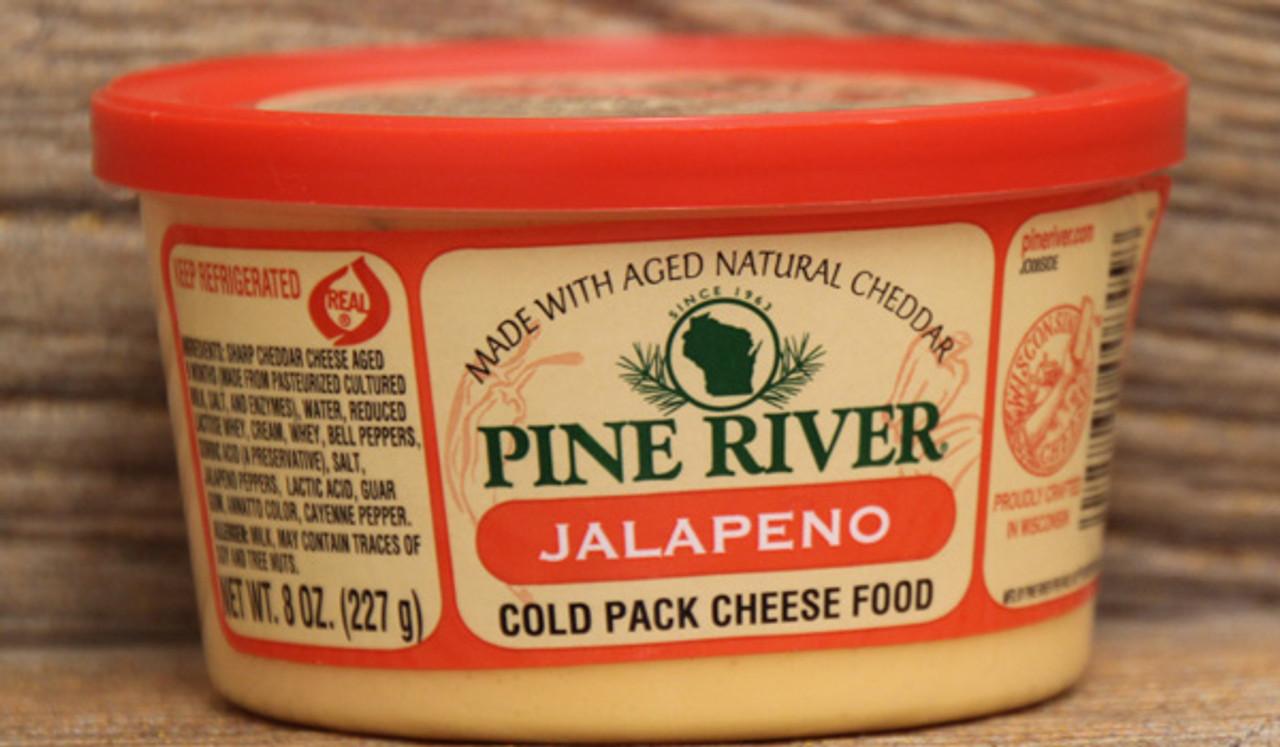 Pine River Jalapeño Cheese Spread - 8oz - Cedar Valley ...