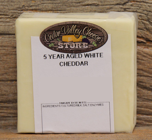 5 Year Aged White Cheddar