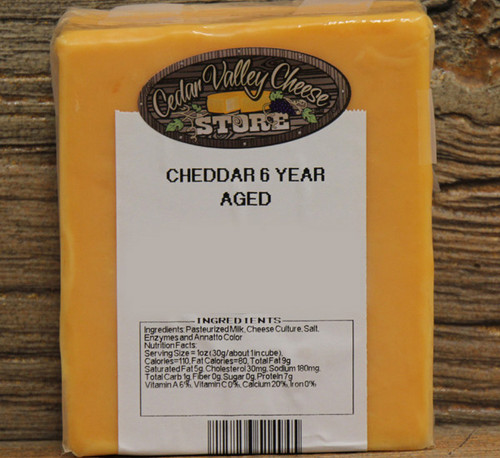 6 Year Aged Cheddar