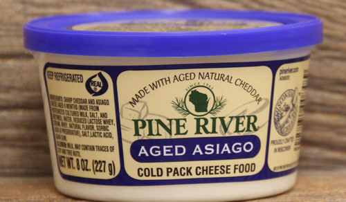 Pine River Aged Asiago Cheese Spread - Small