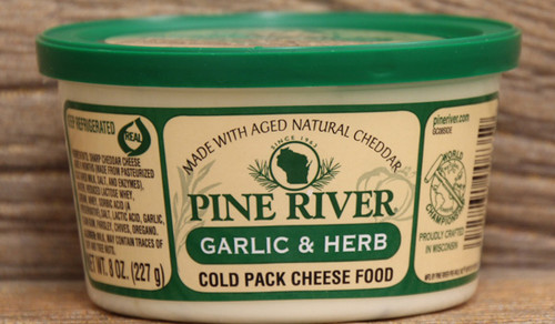 Pine River Garlic and Herb Cheese Spread - Small