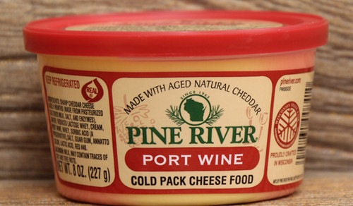 Pine River Port Wine Cheese Spread - Small