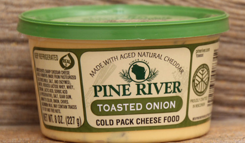 Pine River Toasted Onion Cheese Spread - Small