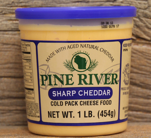 Pine River Sharp Cheddar Cheese Spread - Large