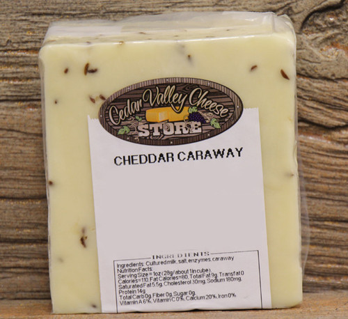 Caraway White Cheddar