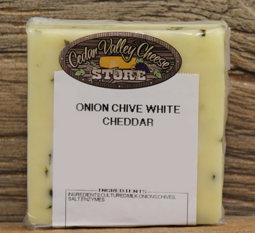 Onion & Chive White Cheddar
