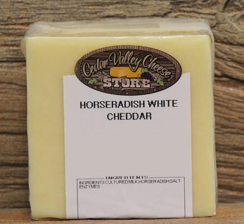 Horseradish White Cheddar