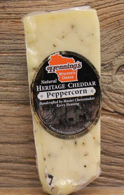 Henning's Aged Peppercorn Cheddar