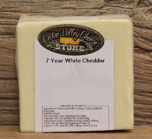 7 Year Aged White Cheddar