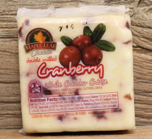 Maple Leaf Cranberry White Cheddar