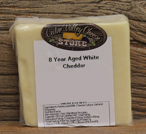 8 Year Aged White Cheddar