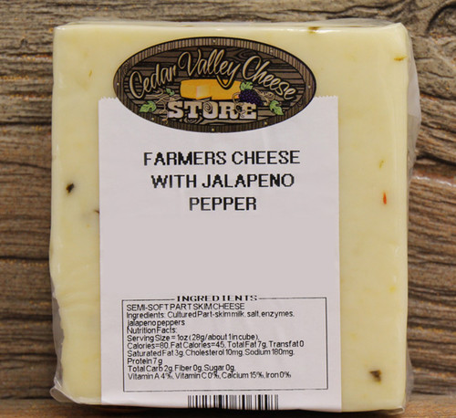 Jalapeño Farmers Cheese