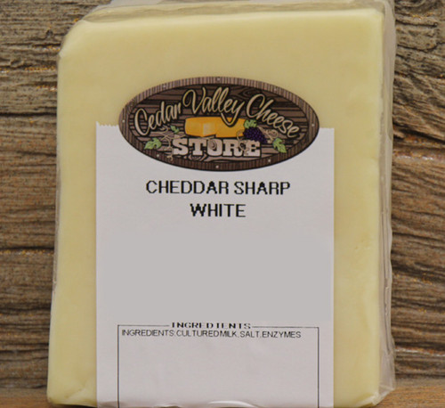 Sharp White Cheddar