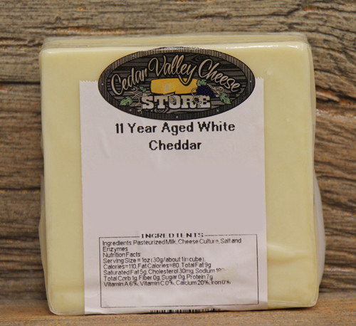 11 Year Aged White Cheddar