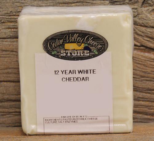 12 Year Aged White Cheddar