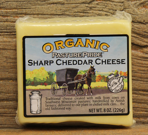Organic Sharp Cheddar