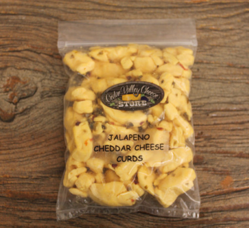 Jalapeño Cheddar Cheese Curds