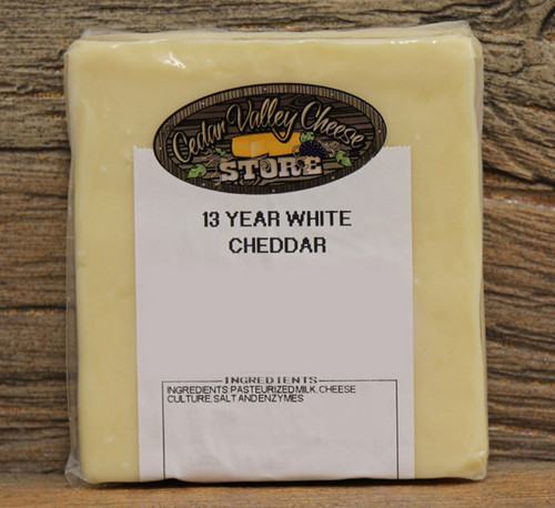 13 Year Aged White Cheddar