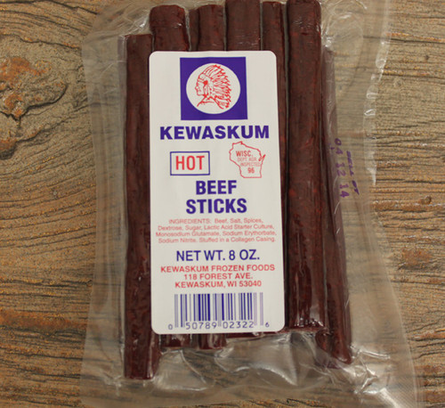 Kewaskum Hot Beef Sticks