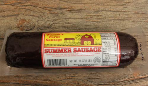 Wenzel's Farm Sausage Summer Sausage