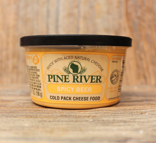 Pine River Spicy Beer Cheese Spread - Small