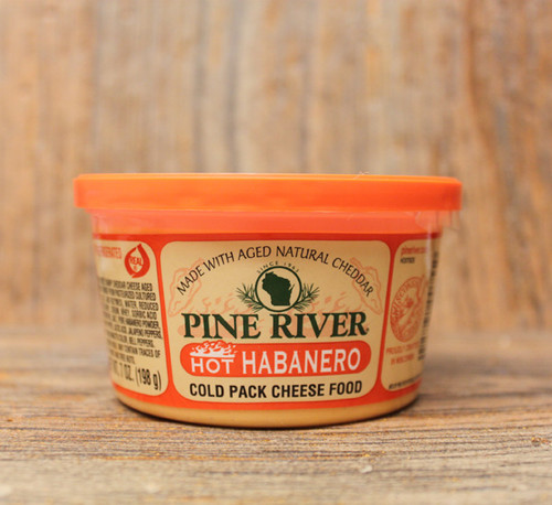 Pine River Hot Habanero Cheese Spread - Small