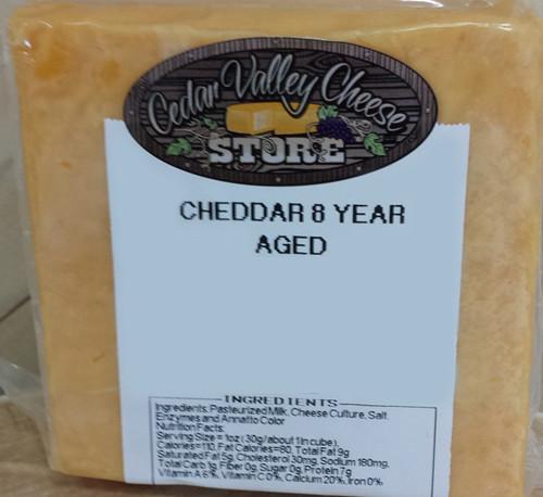 8 Year Aged Cheddar
