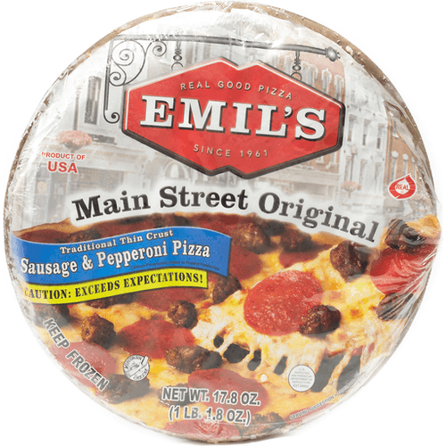 Emil's Sausage & Pepperoni  Pizza (Pickup Item Only)