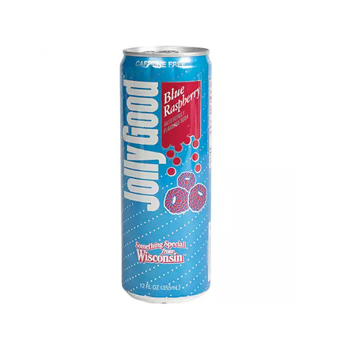 Jolly Good Blue Raspberry Soda - Can (Pickup Item Only)