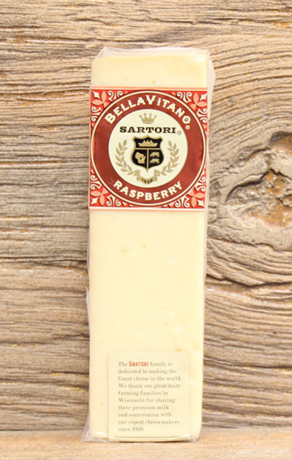 Sartori BellaVitano Raspberry Wheel Wedge