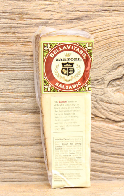 Sartori BellaVitano Balsamic Wheel Wedge
