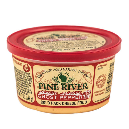 Hot, Hot, Hot!  If you like hot this is the cheese spread for you!   Ghost Pepper Cheese Spread.  8oz