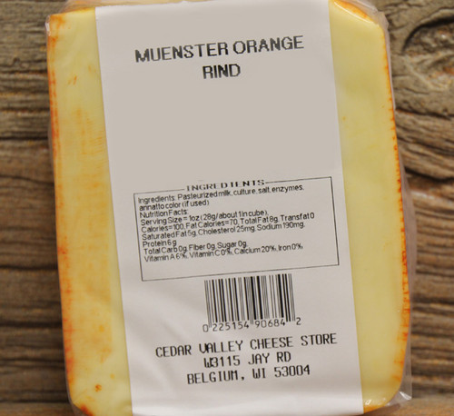 Orange Rind Muenster