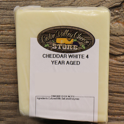 4 Year Aged White Cheddar