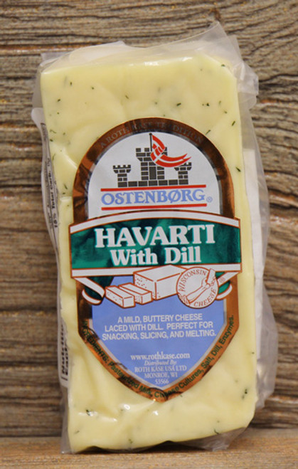 Ostenborg Havarti With Dill